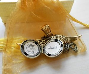 always, gift, and golden snitch image