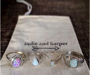 rings, indie, and fashion image