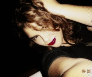 red lips image
