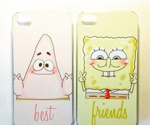 best friends, patrick, and spongebob image