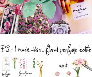 bottle, diy, and flowers image
