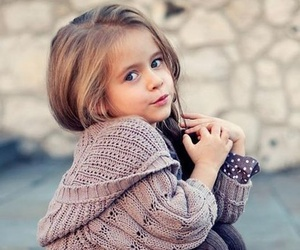 beauty, litlle girl, and cutie image