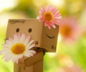 flowers, Amazon, and robot image