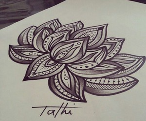 tattoo, draw, and drawing image