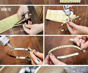 diy, headband, and ideas image