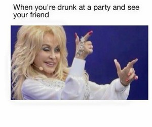 drunk, funny, and friends image
