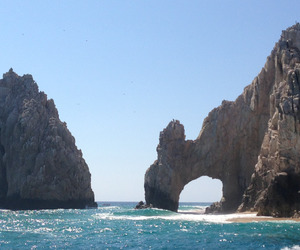 sea, beach, and Cabo image