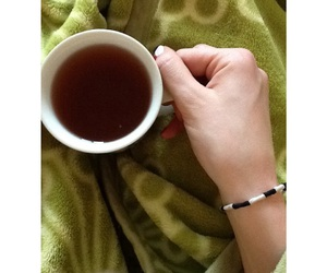 blanket, cozy, and cup image