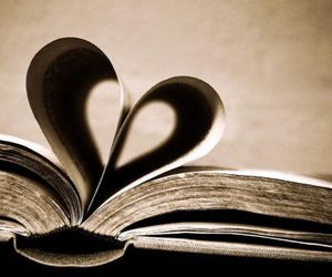 book, couple, and I Love You image