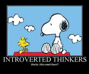 personality, snoopy, and thoughts image