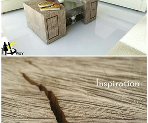 coffee table, design, and wood image