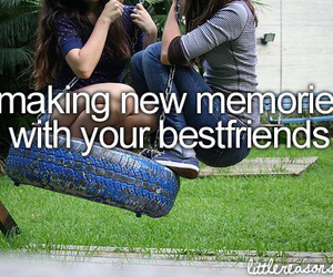 memories, best friends, and friends image