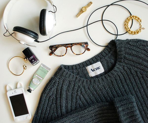 fashion, acne, and music image
