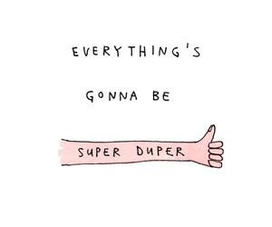 quotes, super duper, and super image