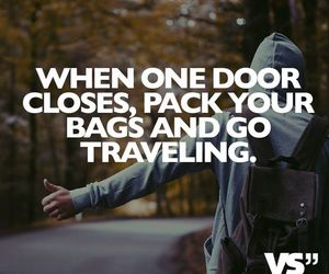 leave, life, and travel image