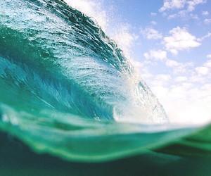 sea, waves, and big image