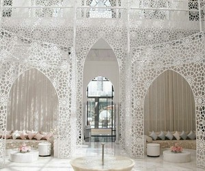 white, morocco, and architecture image