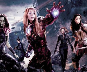 black widow, Marvel, and pepper potts image
