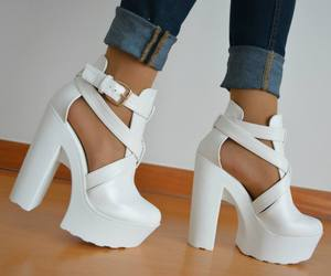 heels and white image