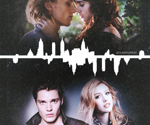 clary, jace, and shadowhunters image