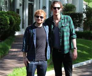 ed sheeran and hozier image