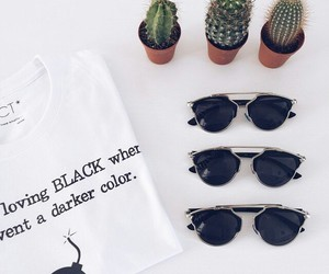 accessories, black, and sunglasses image