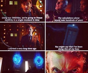 david tennant, tenth doctor, and peter capaldi image