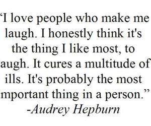 quote, text, and audrey hepburn image
