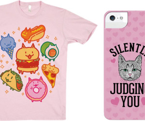 cat, fashion, and food image