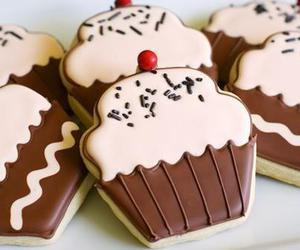 Cookies, cupcake, and chocolate image
