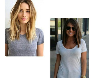 blonde, nice, and long bob image