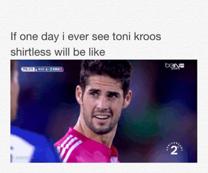 lol, real madrid, and isco image