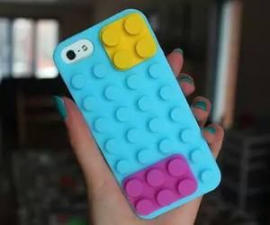 iphone, lego, and case image
