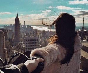 girl, love, and new york image