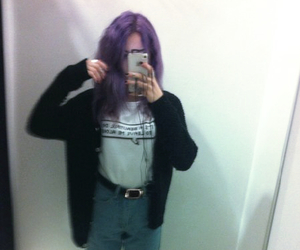 aesthetic, grunge, and @squareofcat image