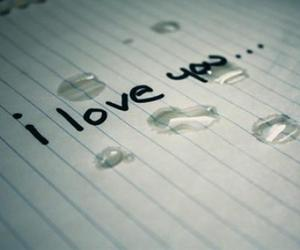 love, cry, and I Love You image
