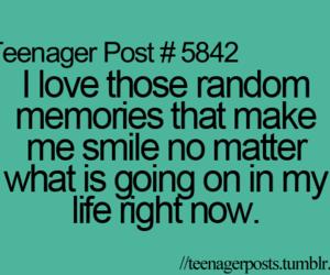 memories, smile, and teenager post image