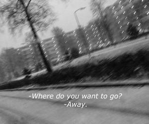 away, sad, and grunge image