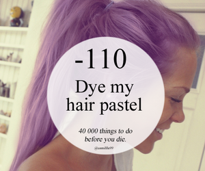 hair, pastel, and love image