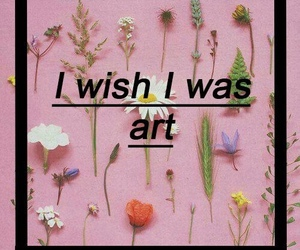 art, flowers, and grunge image