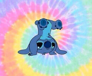 stich and cute image