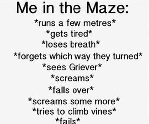 book, the maze runner, and me image