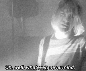 nirvana, kurt cobain, and Nevermind image