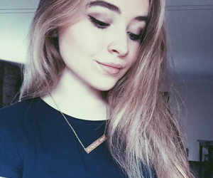 sabrina carpenter, tumblr, and blonde image