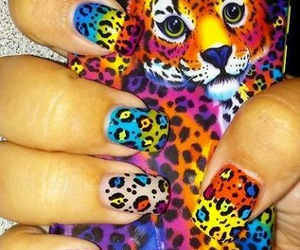 nails and colourful image