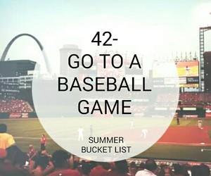 baseball, game, and go image
