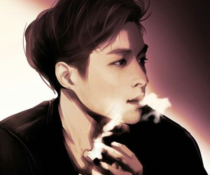lay, exo, and fanart image