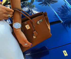 luxury, watch, and hermes image