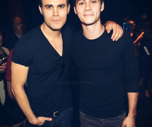 paul wesley and dylan o'brien image