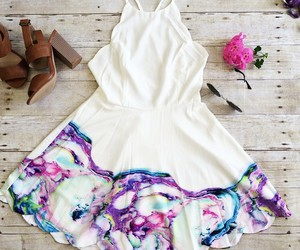 dress, outfit, and love image